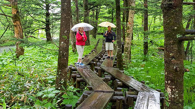 Mom and Dad hiking in Kamikochi - Kamikochi, Japan ... July 9, 2016 ... Photo by Rob Page III