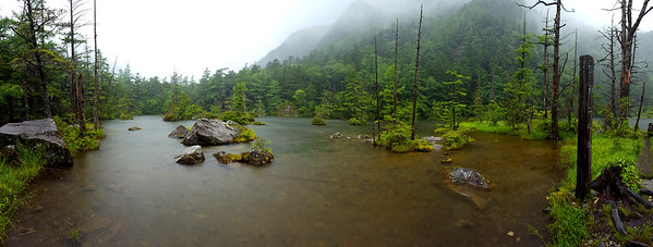 Myojin Pond - Kamikochi, Japan ... July 9, 2016 ... Photo by Rob Page III