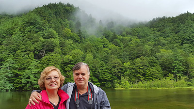 Mom and Dad at the Myojin Pond - Kamikochi, Japan ... July 9, 2016 ... Photo by Rob Page III