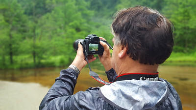 Taking a photo - Kamikochi, Japan ... July 9, 2016 ... Photo by Rob Page III