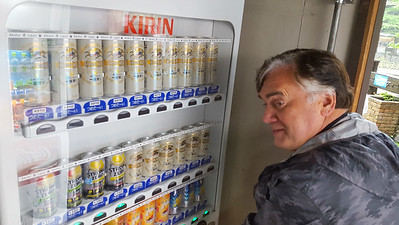 Buying a beer for the evening - Kamikochi, Japan ... July 9, 2016 ... Photo by Rob Page III