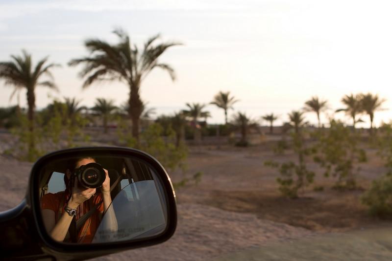 On the way to Saudi Arabia