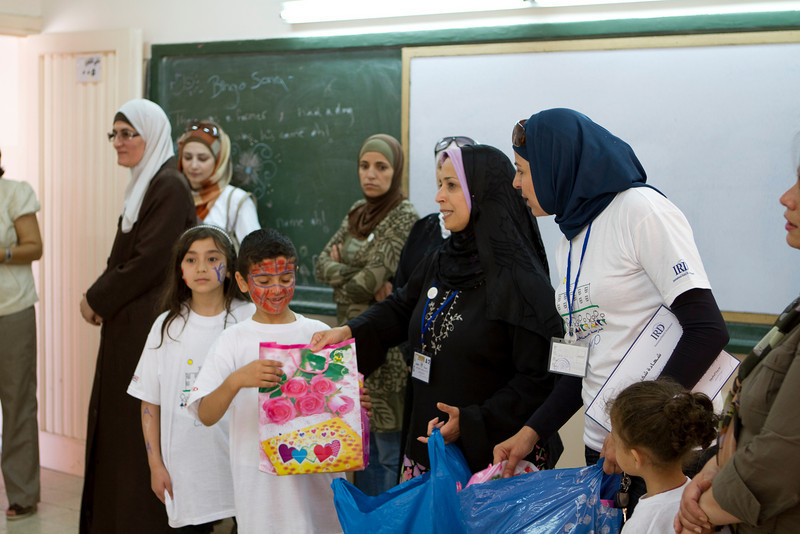 The students also got a gift, from a nice community donation, for participating in the summer club.