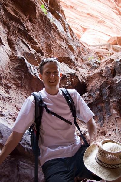 In Khazali canyon.