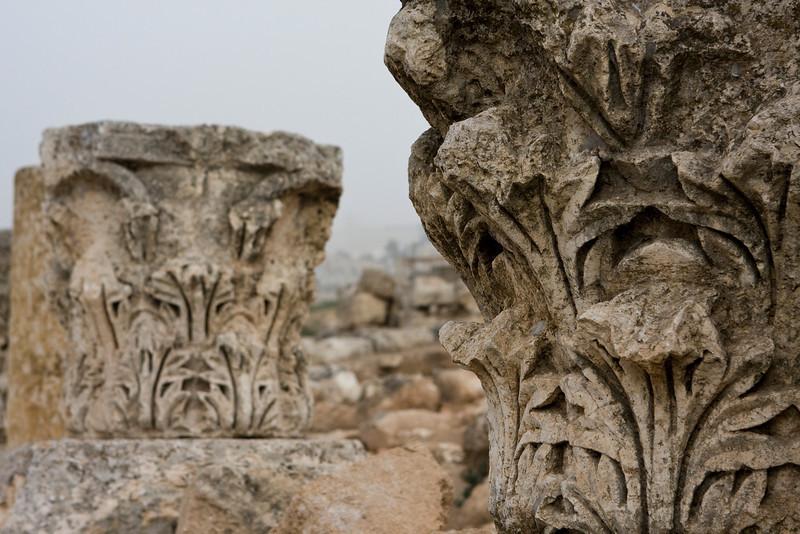 Details of Jerash.
