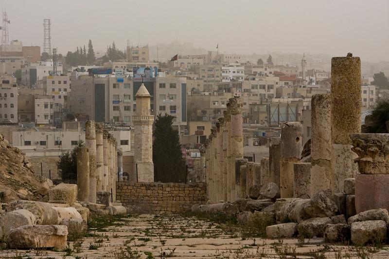 Old Jerash meets new Jerash.