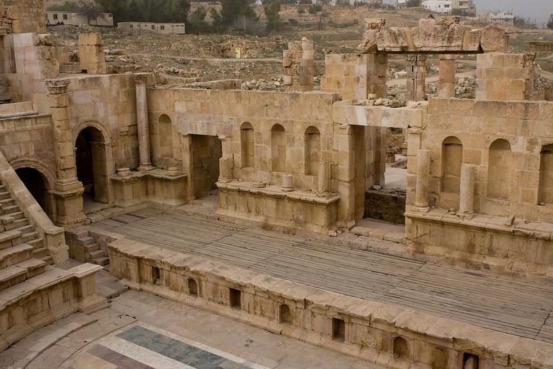 Roman theater.
