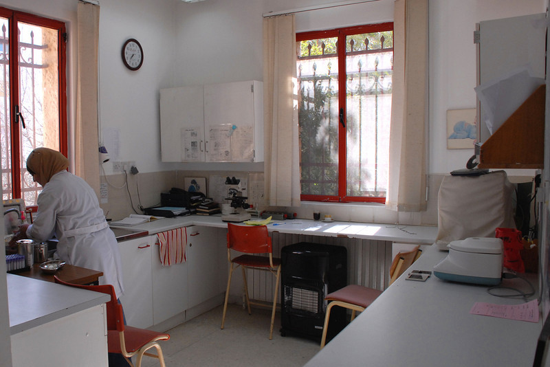 The clinic laboratory