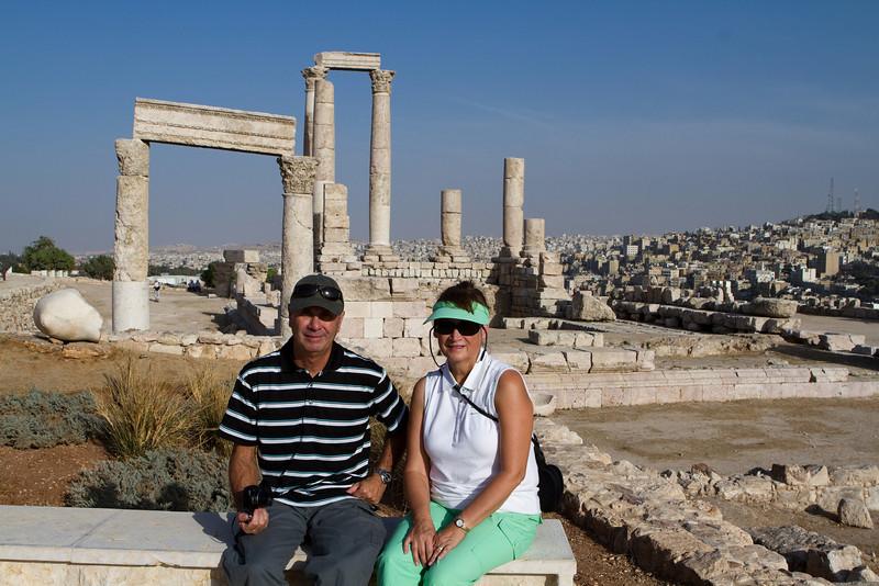 Roman Ruins at the Citadel in Amman