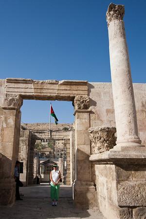 Inside the Roman Amphitheater - Amman