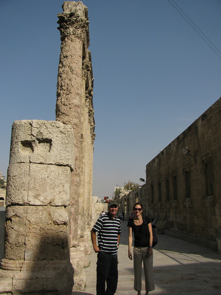 The Roman Amphitheater - Amman Photo by Mom and Dad