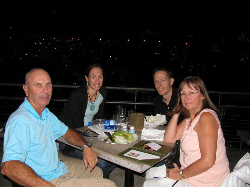 Mom and Dad's First night in Amman