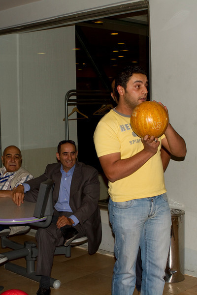 Ziad with Sabah and Kamel watching