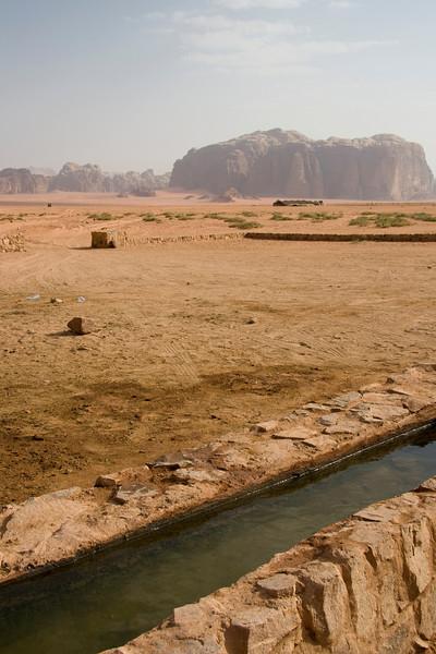 Aquaduct in the desert
