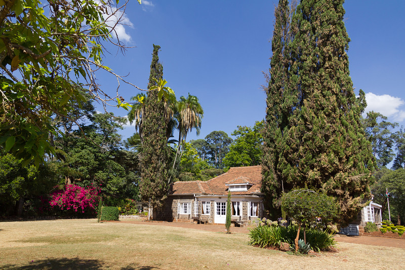 "Home of Karen Blixen who wrote; ""Out of Africa""."