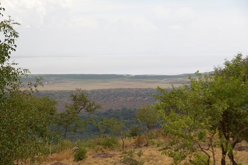 The landscape in Lake Manyara National Park - Tanzania