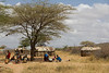 Village life of the Maasai in the Samburu National Reserve - Kenya