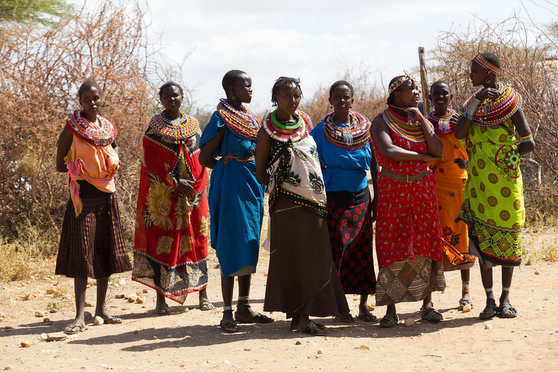 Available Brides in the Samburu National Reserve - Kenya