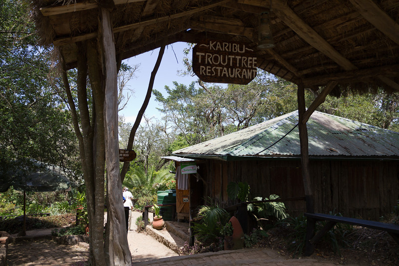 This resturant is on the road from Nairobi to Samburu National Reserve.