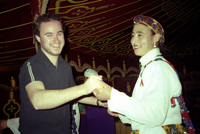Dancing at Chez Ali - Marrakesh, Morocco ... March 7, 2005 ... Photo by Rob Page III