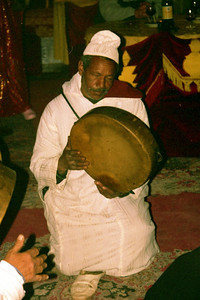 The evening entertainment at Fantasia Chez Ali  - Marrakesh, Morocco ... March 7, 2005 ... Photo by Heather Page