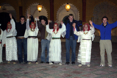 Red Rover, Red Rover... ~ Fantasia Chez Ali  - Marrakesh, Morocco ... March 7, 2005 ... Photo by Heather Page