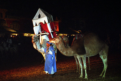 The entertainment at Fantasia Chez Ali - Marrakesh, Morocco ... March 7, 2005 ... Photo by Rob Page III