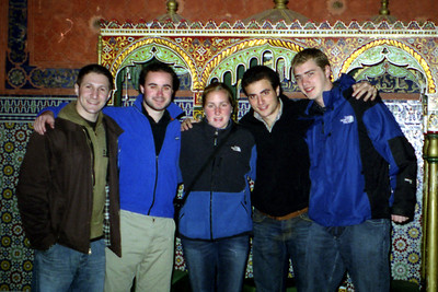 The Morocco Crew - Marrakesh, Morocco ... March 7, 2005 ... Photo by Unknown