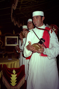 Entertainment at Chez Ali - Marrakesh, Morocco ... March 7, 2005 ... Photo by Rob Page III