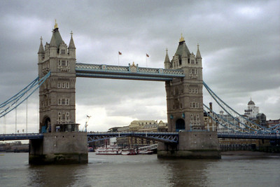 The Tower Bridge of London - London, England ... March 5, 2005 ... Photo by Rob Page III