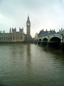 Big Ben - London, England ... March 4, 2005 ... Photo by Rob Page III