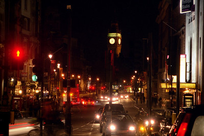 London at night - London, England ... March 12, 2005 ... Photo by Rob Page III