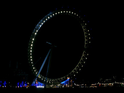 The London Eye - London, England ... March 4, 2005 ... Photo by Rob Page III