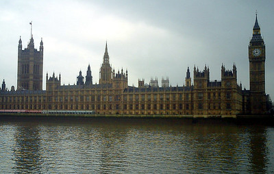 The British House of Parliament and Big Ben - London, England ... March 4, 2005