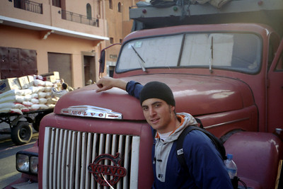 An old Volvo - Marakesh, Morocco ... March 7, 2005 ... Photo by Rob Page III