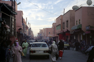 Street Life - Marakesh, Morocco ... March 7, 2005 ... Photo by Rob Page III