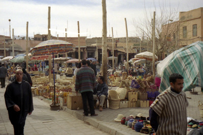 The Markets - Marrakesh, Morocco ... March 7, 2005 ... Photo by Rob Page III