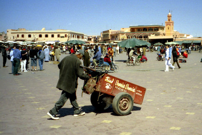 Life in the Djamaa el Fna - Marrakesh, Morocco ... March 7, 2005 ... Photo by Rob Page III
