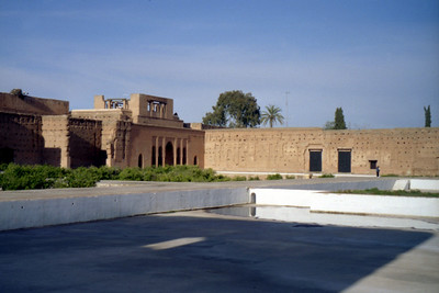 The El Badi Palace.  This used ot be one of the most beautiful palaces in the world - Marakesh, Morocco ... March 7, 2005 ... Photo by Rob Page III