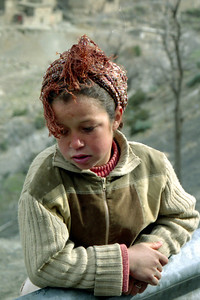 A little child - Morocco ... March 8, 2005 ... Photo by Heather Page
