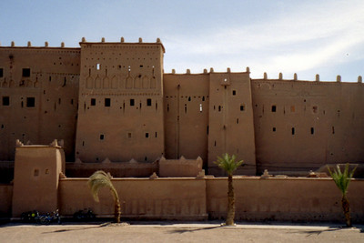Some of the Moroccan architecture - Ouarzazate, Morocco ... March 8, 2005 ... Photo by Rob Page III
