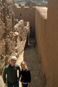 Rob and Heather- Aït Ben Haddou, Morocco ... March 8, 2005 ... Photo by Elliot MacDougall Weymouth