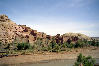 The town where Lawrence of Arabia and Gladiator were filmed  - Aït Ben Haddou, Morocco ... March 8, 2005 ... Photo by Rob Page III