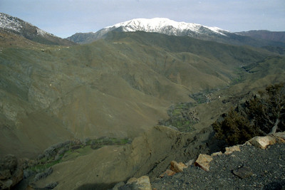 The Atlas Mountains - Morocco ... March 8, 2005 ... Photo by Heather Page
