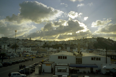 Welcome to Africa - Tangiers, Morocco ... March 6, 2005 ... Photo by Rob Page III