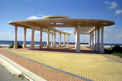 The Mediterrenean architecture - Tarifa, Spain ... March 6, 2005 ... Photo by Heather Page
