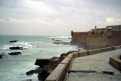 Looking out to sea - Cadiz, Spain ... March 11, 2005 ... Photo by Rob Page III