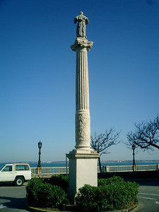 A monument in Cadiz - Cadiz, Spain ... March 6, 2005 ... Photo by Rob Page III