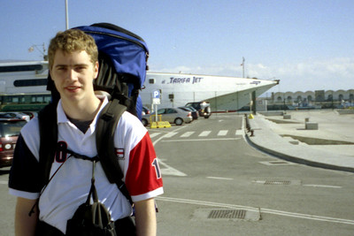 Getting ready to head to Africa - Tarifa, Spain ... March 6, 2005 ... Photo by Rob Page III