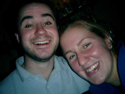 Elliot and Heather having fun in Espana - Cadiz, Spain ... March 5, 2005 ... Photo by Rob Page III